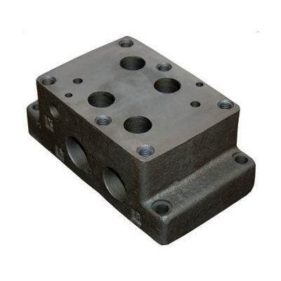 D08 Series Subplate Side Ported Ductile Cast Iron